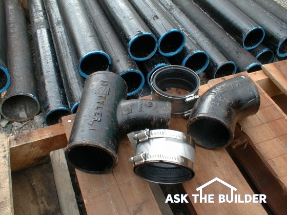 Cast iron pipe & fittings