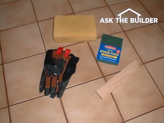 tools to remove grout
