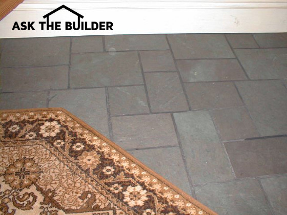 Slate floor texture Rustic Stone Flooring Three Unique Characteristics Set Slate Apart From Other Flooring Materials Color Texture And Available Shapes And Sizes Minerals And Impurities In The Ask The Builder Slate Flooring Its Great Ask The Builder
