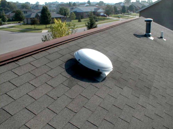 powered attic ventilation fan