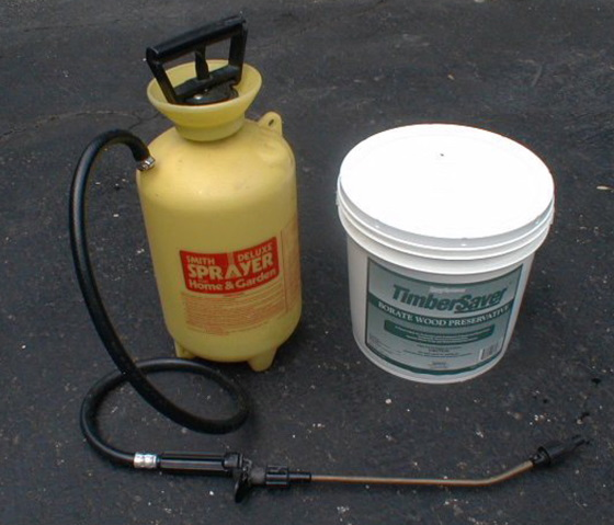 borate products with sprayer