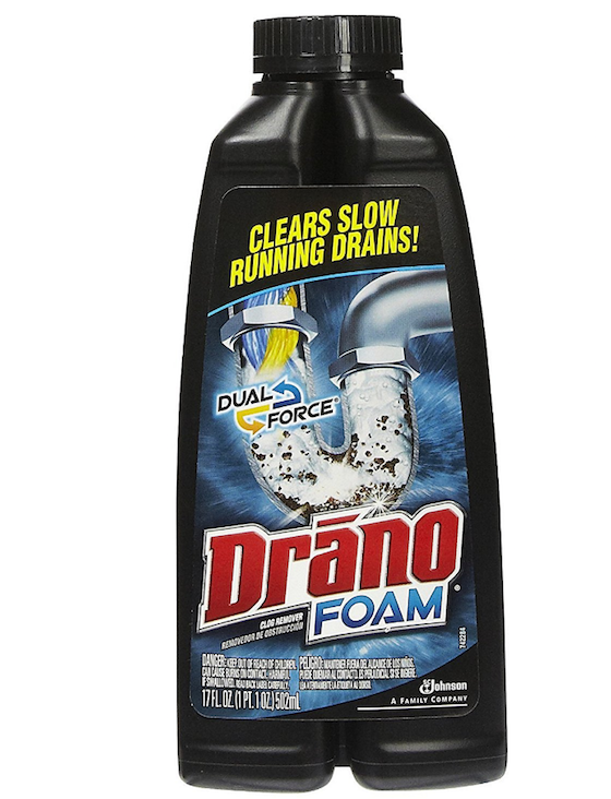 how to use drain cleaner