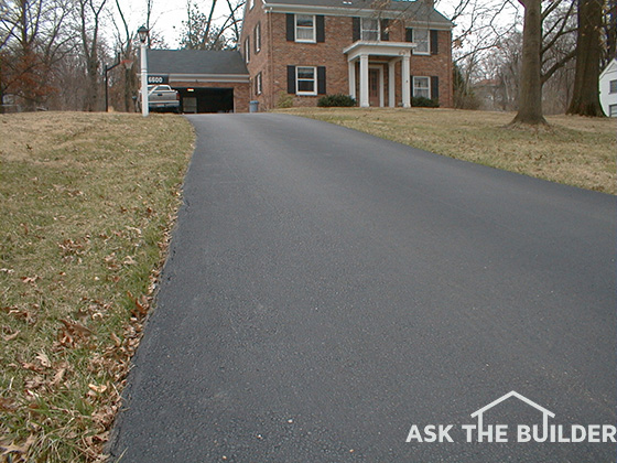 Blacktop Driveways Over Concrete Ask The Builderask The