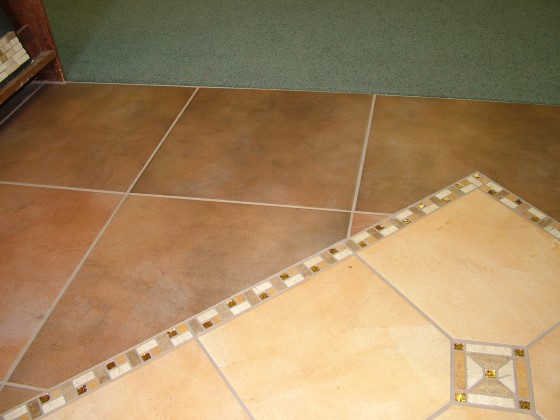 colored tile inlay ceramic tile