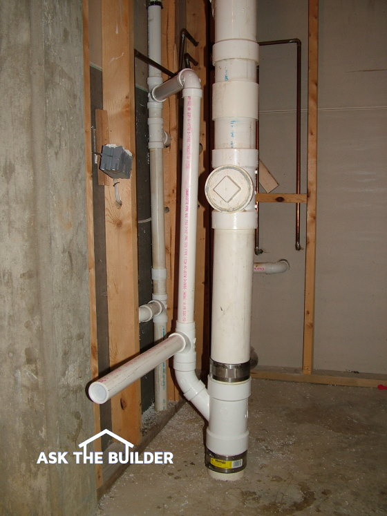 drain pipes with extra outlet