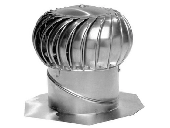 Turbine Air Ventilators : Roof ventilation with turbine vents ask the builder