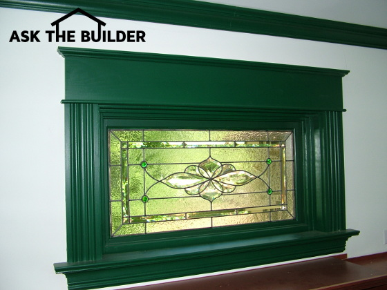5e02d2a31d5 This gorgeous custom-made beveled and stained glass panel is not sandwiched  between the insulated glass. It lays on top of the insulated glass and is  ...
