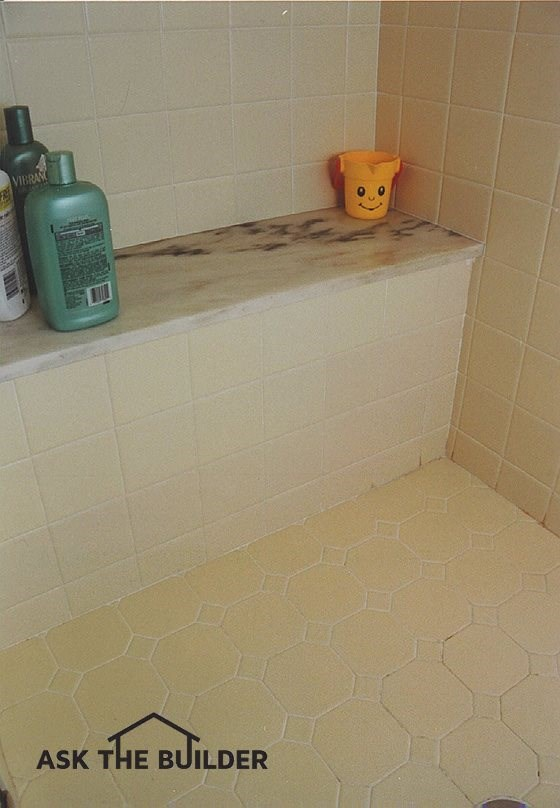 Ceramic Tile Shower Seat - Ask the Builder