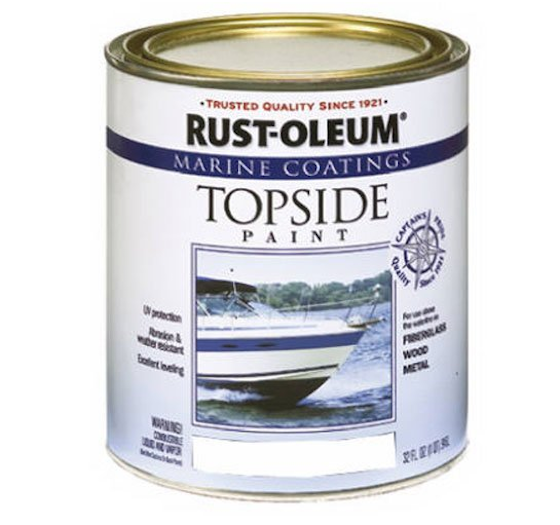 This Is A Special Paint Formulated To BOND To Fiberglass. It Can Be Tinted.  CLICK THE IMAGE TO ORDER IT NOW.