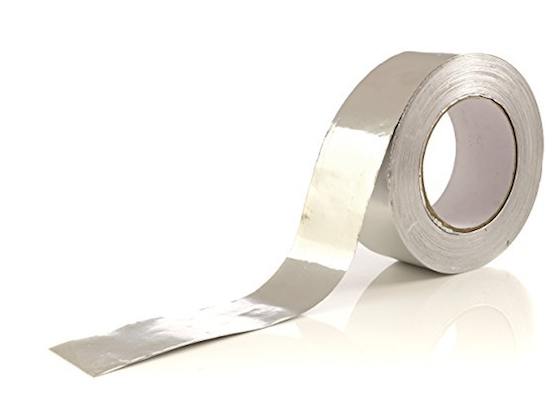 This is very cool duct tape. Pros never use the crap tape you see at home centers. This tape is thin aluminum with a strong adhesive.  sc 1 st  Ask the Builder & Bathroom Exhaust Fan Leaks Cold Air - Ask the Builder