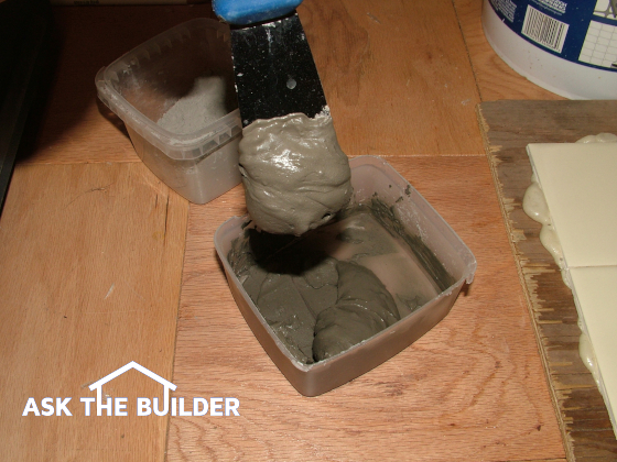 Mixing Grout