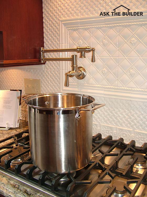 Pot Filler Faucet - Ask the Builder