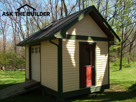 Wood Sheds - STOP and Plan for the Right Size | AsktheBuilder.com