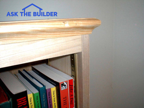 Tim 39 s deluxe bookcase ask the builder for Ask the builder
