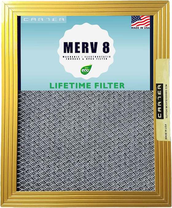 washable furnace air filter