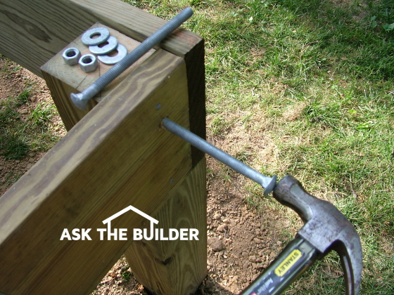 Building a deck ask the builder for Ask the builder