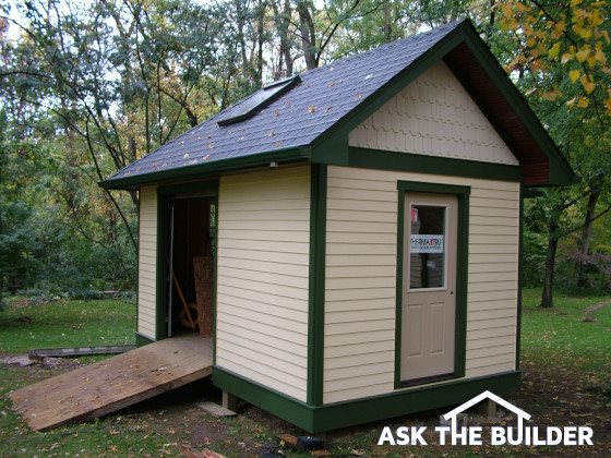 Shed Plans Guarantee Lots of Shed Space | AsktheBuilder.com