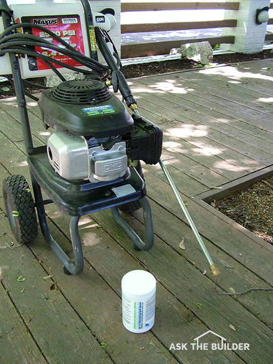 How to clean a deck ask the builder for Ask the builder