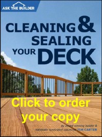 Cleaning & Sealing Your Deck