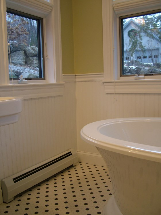 Wainscoting - Ask the Builder on tile around outlets, baseboard around outlets, insulation around outlets, drywall around outlets, trim around outlets, stone around outlets, molding around outlets,