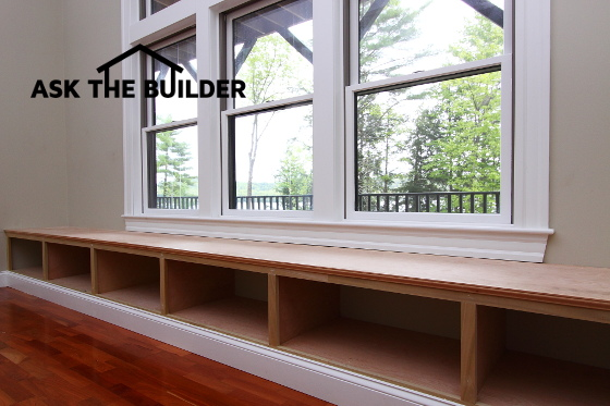Pictures Of Window Seats window seats - ask the builderask the builder