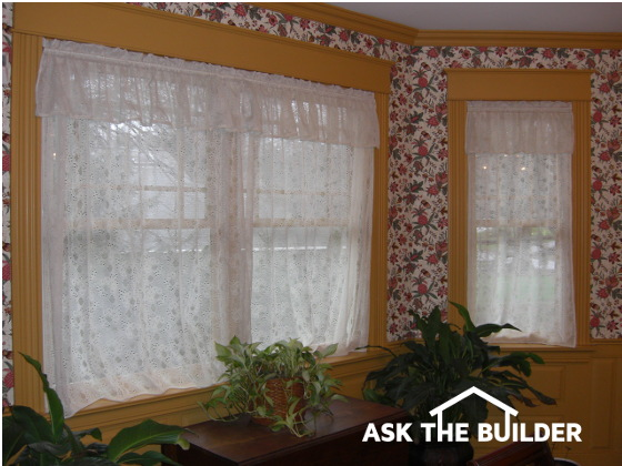 Hanging Window Coverings Ask The Builder
