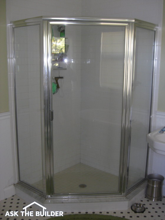 Corner Glass Shower