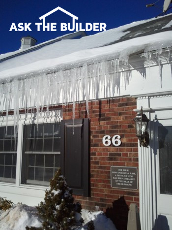 icicles hanging