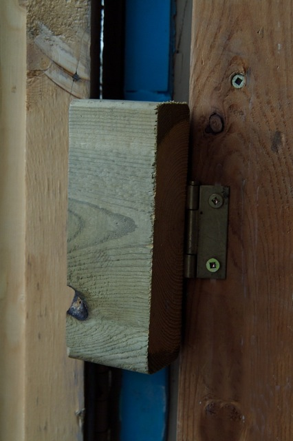 Hasp And Staple >> Shed Door Latch Tip - Ask the Builder