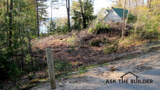 Lot clearing tips ask the builder for Ask the builder