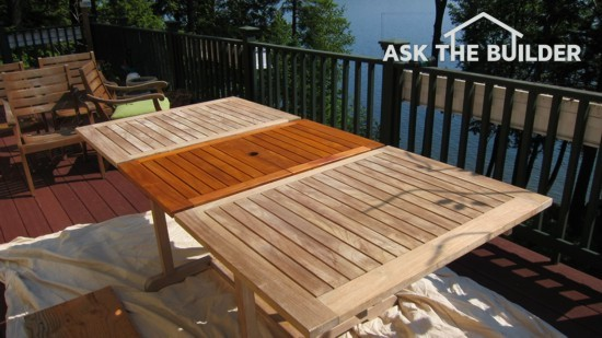 Outdoor Wood Furniture Sealer - Ask the BuilderAsk the Builder