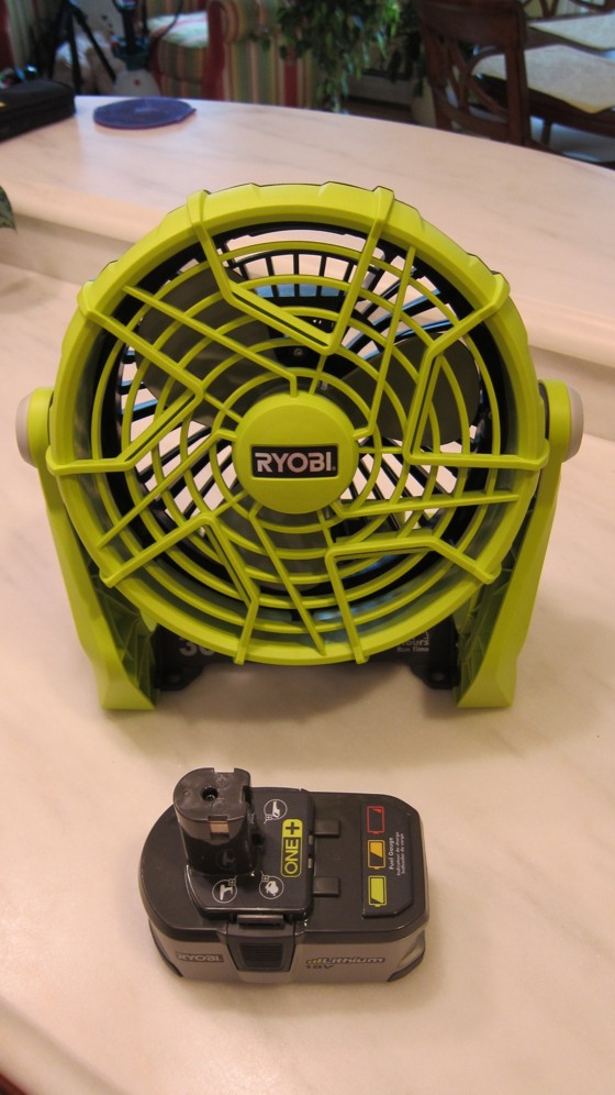 Ryobi 18v One Portable Fan Review Ask The Builderask