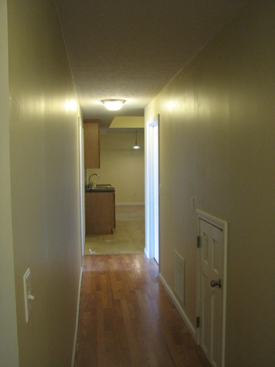 hallway to galley kitchen