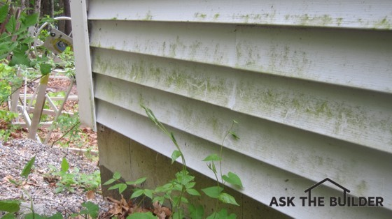 Cleaning Exterior Siding