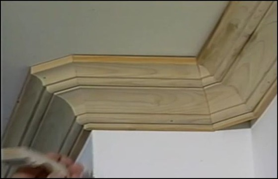 Crown Molding on Sloped Ceilings - It's Not Too Hard - No Need For the Tricky Triangular Piece
