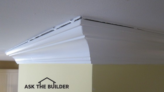How To Caulk Ceiling Cracks Ask The Builder