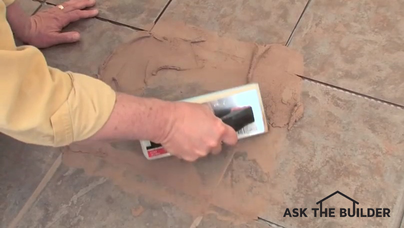 Grouting Tile is Easy if You Follow Advice | AsktheBuilder.com