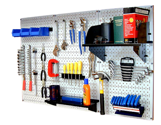 this is a great starter set of the metal pegboard hooks and accessories this is the brand i have in my home click the image now to buy this pegboard - Pegboard Hooks