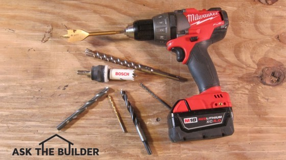 These tools and bits allow you to drill holes through a multitude of things. Photo Credit: Tim Carter