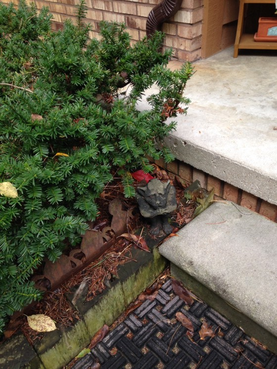 How Much Soil Against A Brick House