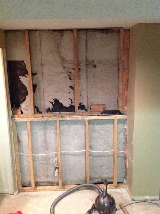 Vapor Barrier And Drywall Here S Charles Wall