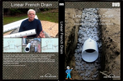 Linear French Drain DVD
