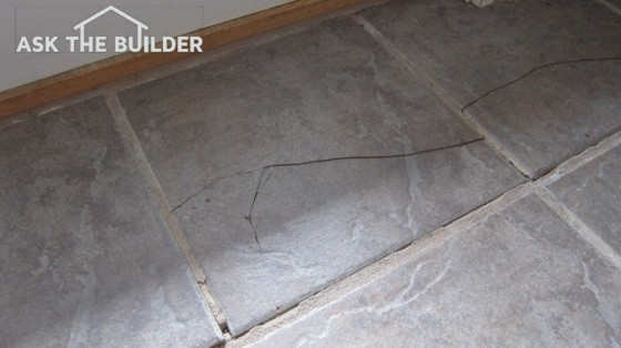 This Ceramic Floor Tile Has A In It And Is Dangerous For Those With