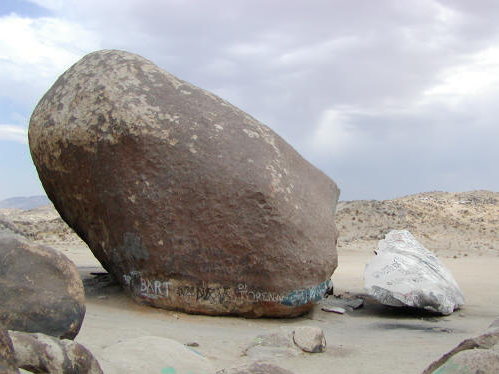 Weight Of Giant Rock In Ca Ask The Builder