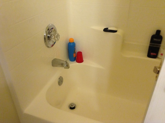 Tub drain pipe size ask the builder for Normal bathtub size