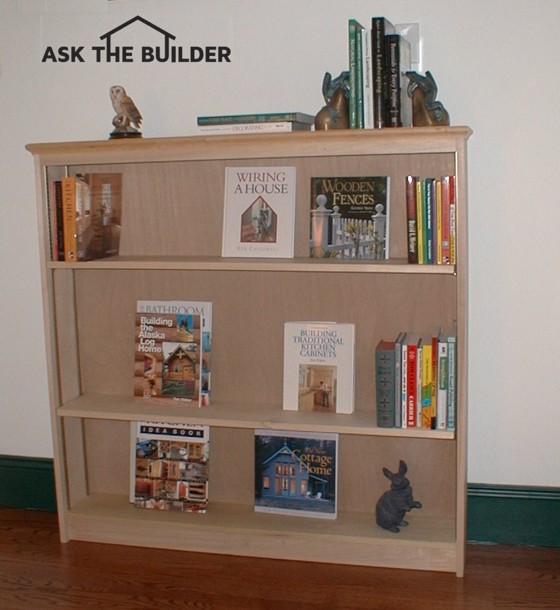 How To Build A Simple Bookcase Ask The Builder