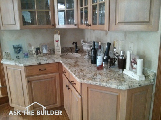 Wet Bar Ideas are Plentiful | Height is Key | AsktheBilder.com