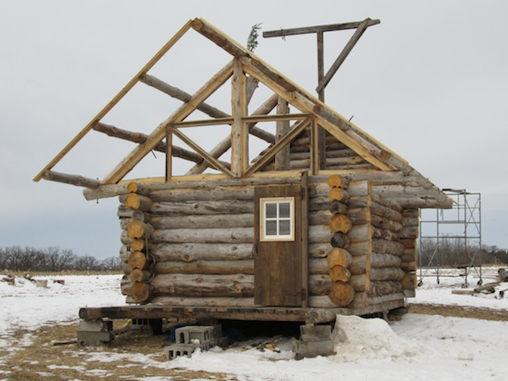 diy log cabin ask the builder