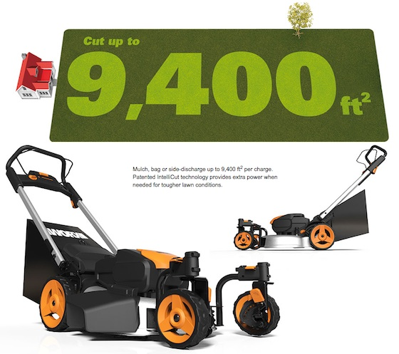Worx 56v Cordless Electric Mower Review Ask The Builder