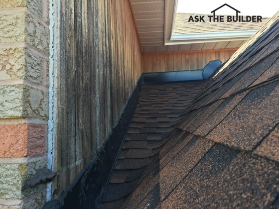 Snow causing roof leak ask the builder for Roof leaking in winter